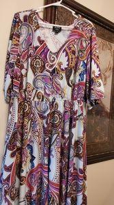 ECI Women New York Asymmetrical Dress